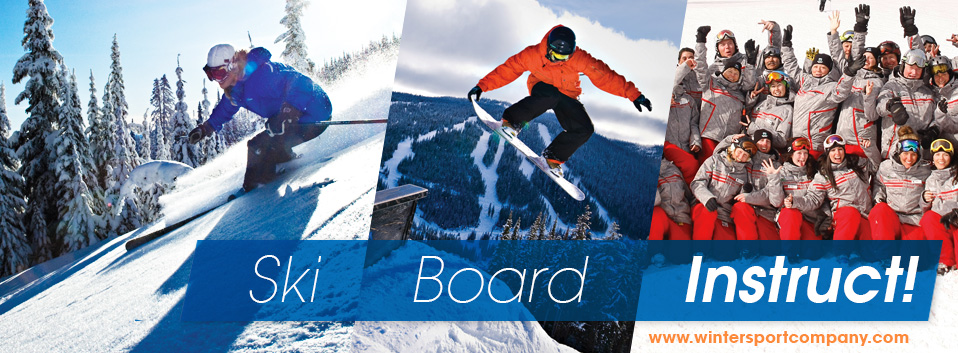 Gap year ski board instruct