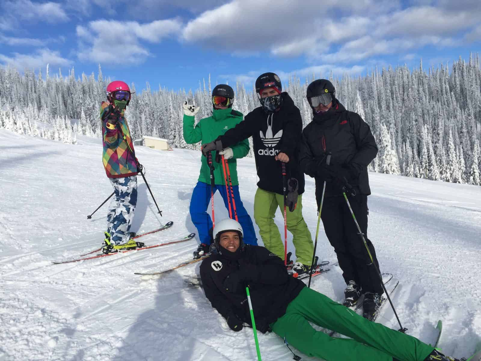 Ski Instructor Course Group Sun Peaks