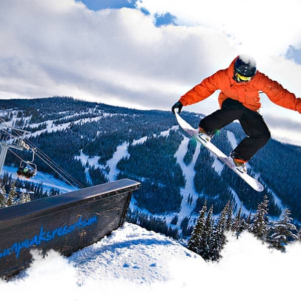 CASI Levels 1 & 2 Snowboard Instructor 11 Weeks Sun Peaks, Canada